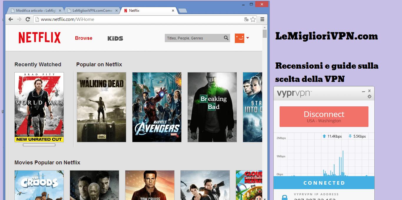 come vedere Netflix