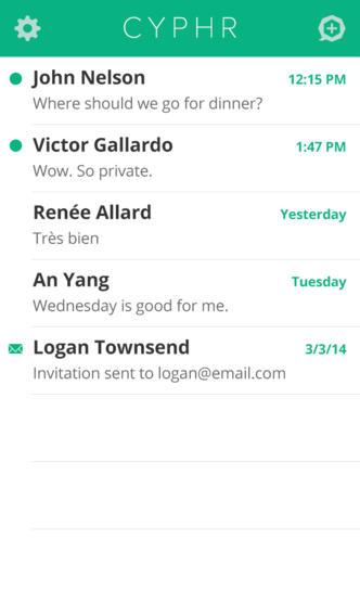 mandare messaggi cifrati con iphone