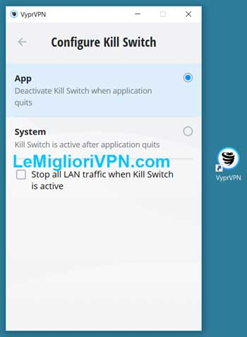 kill switch vyprvpn