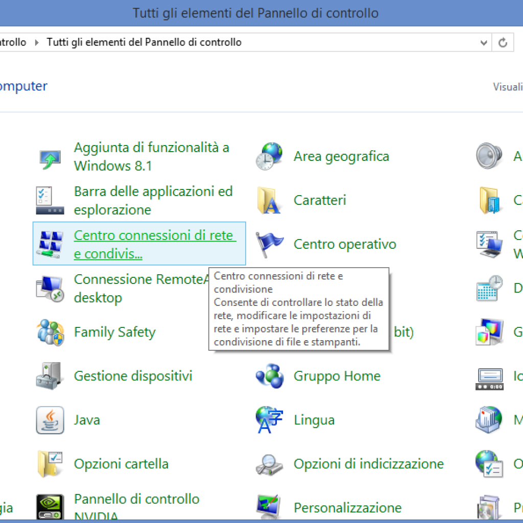 Come creare una connessione vpn in windows 8
