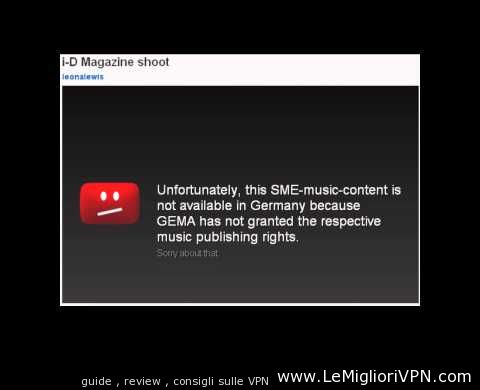 youtube in germania