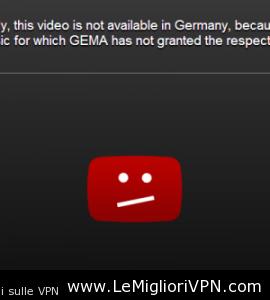 Youtube in Germania e il problema della GEMA