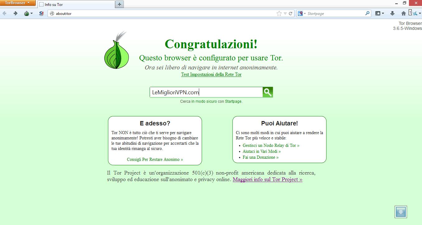 come accedere al darkweb con tor