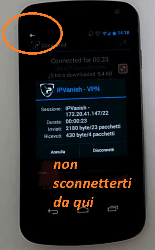 vpn per Android VPN client