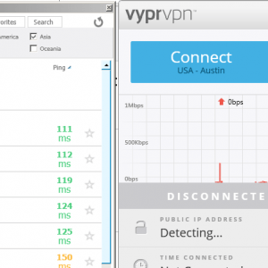 VyprVPN fastest server e notifiche desktop