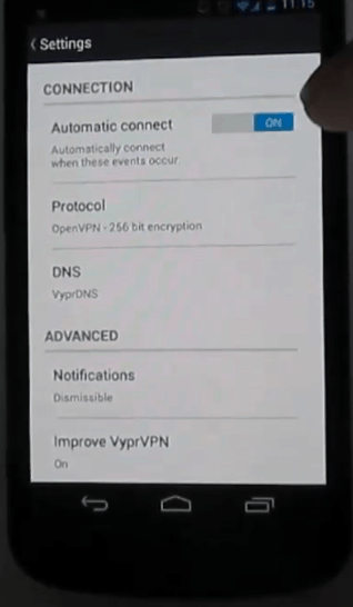 vyprvpn android vpn