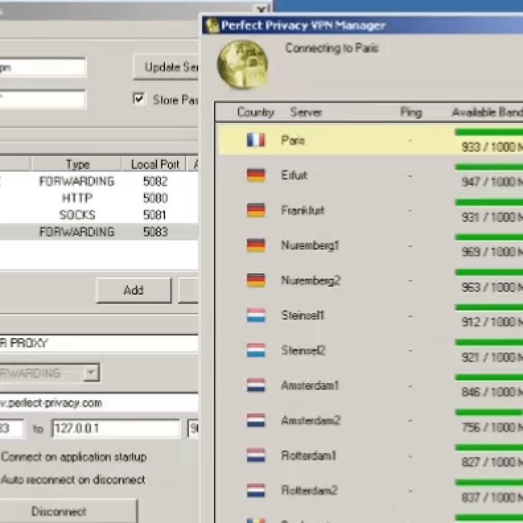 VPN in cascata con Perfect Privacy