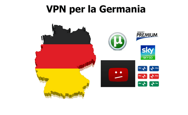 VPN per la Germania