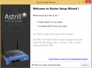 astrill router