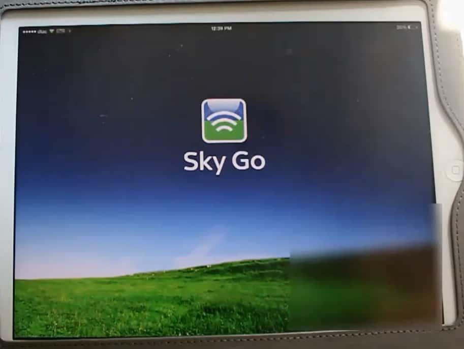 Ipad Sky Go