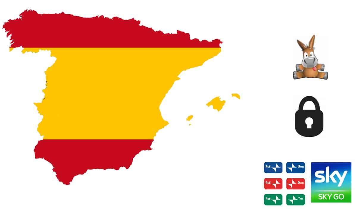 vedere Sky Go in Spagna