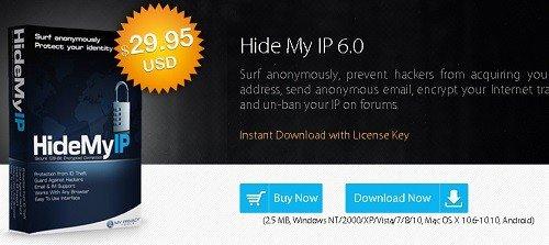 hidemyip hide my ip costo