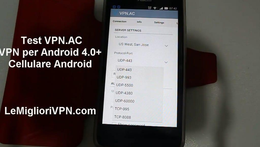 vpn per android 4