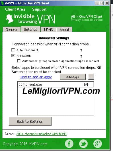 ibvpn kill switch