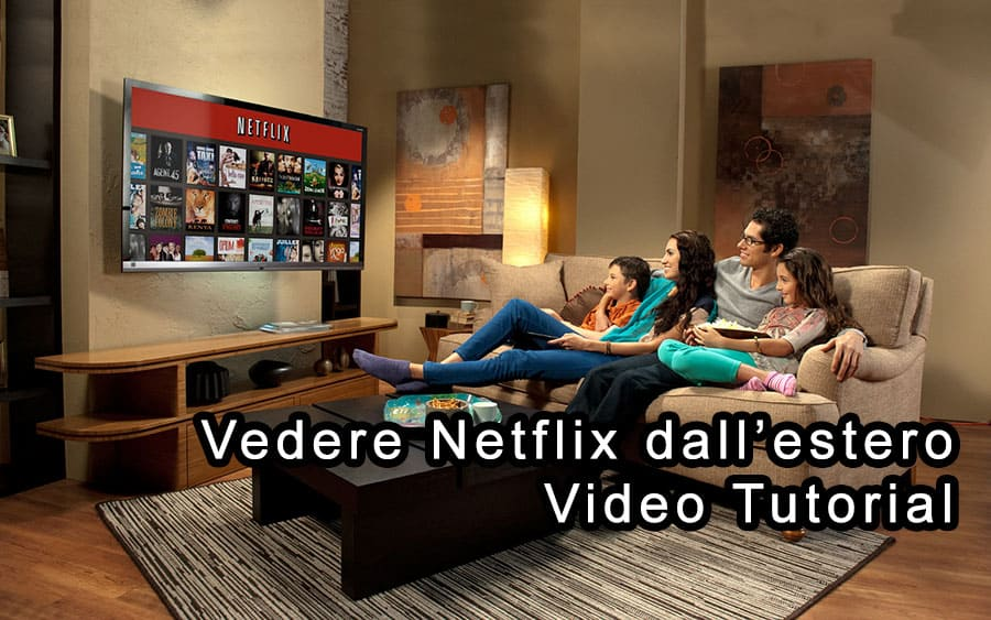 Netflix dall'estero