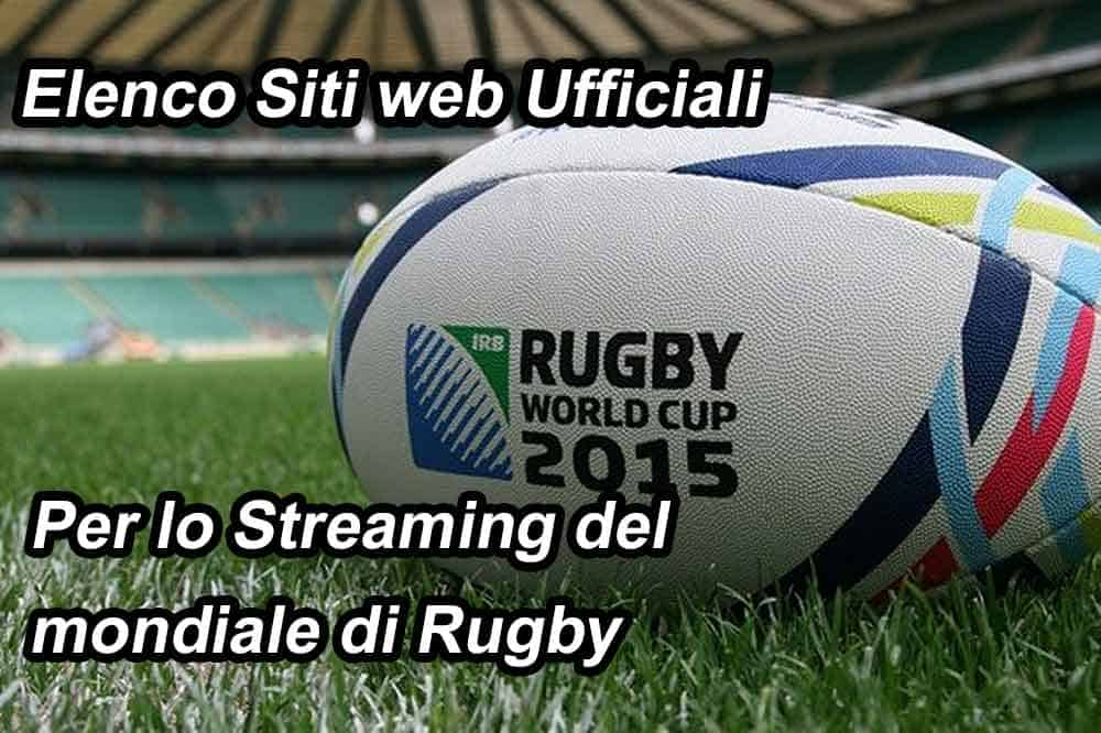 mondiale di rugby in streaming