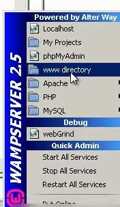 www-directory-wamp