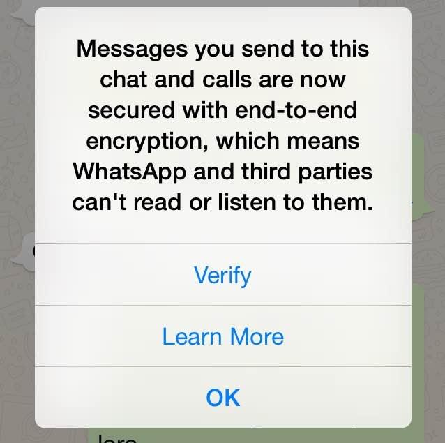 Come funziona la crittografia in Whatsapp