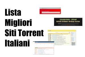 lista migliori siti torrent italiani