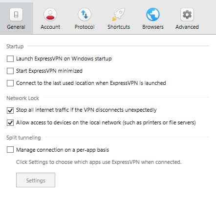 expressvpn kill switch network lock