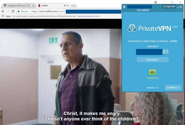 privatevpn netflix