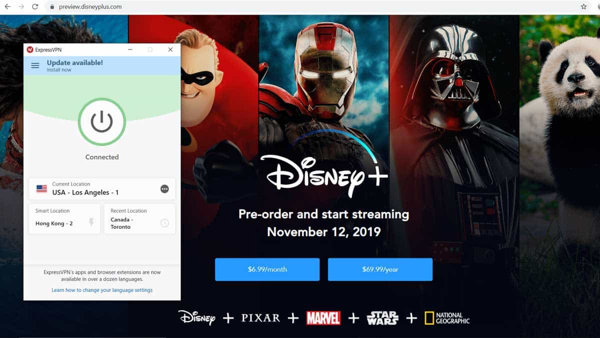vpn disney plus