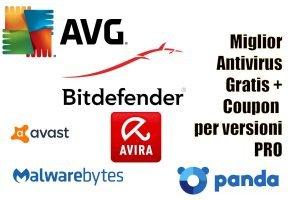 miglior antivirus free