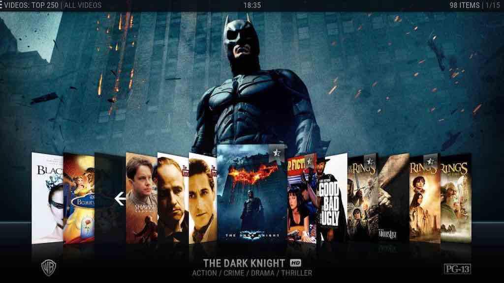 Guarda i migliori film collegandoti a Kodi con una VPN
