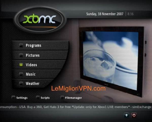 XBMC 2007