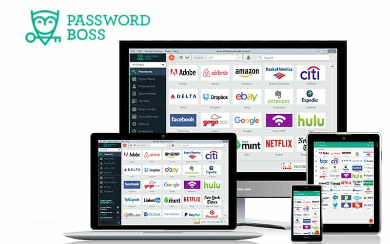 gestione password manager password boss