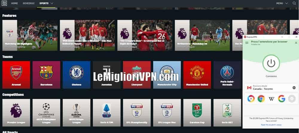 DAZN Serie B Serie A