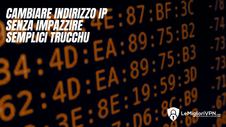 cambiare IP