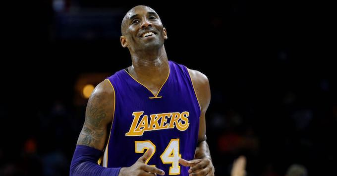 partite NBA streaming gratis kobe bryant