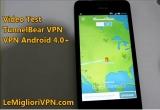 VPN per Android 4.0 di TunnelBear | Semplice, funzionale ma senza opzioni