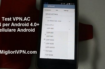 Video prova VPN.AC su cellulare | VPN per Android 4.0 +