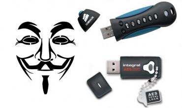 Chiavetta USB crittografata | Crittografia hardware per le tue memorie