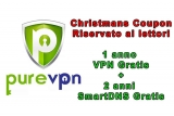 PureVPN offerta ai lettori | 1 anno VPN + 2 anni di smartdns gratis per 1 anno acquistato