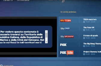 Come vedere sky go fuori Italia con una VPN (agg maggio 2017)