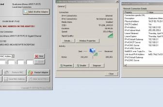 Come cambiare mac address alla scheda di rete in Windows