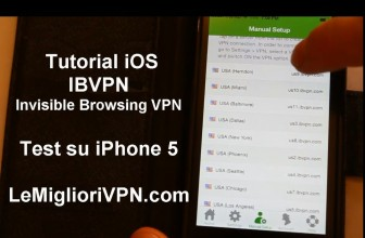 Tutorial IBVPN per iOS | iPhone 5 per iOS 8 o superiore