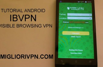 Tutorial IBVPN Android | Possibilità di cambiare le porte