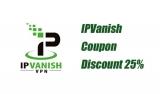 Sconto IPVanish del 25% tramite offerta speciale