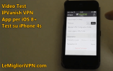 VPN per iOS 8 di IPVanish | Video prova della VPN per iPhone