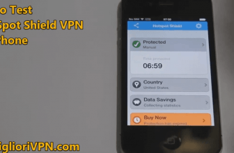 Video Test HotSpot Shield VPN per iOS 4 .3 | Perfetta per vecchi dispositivi