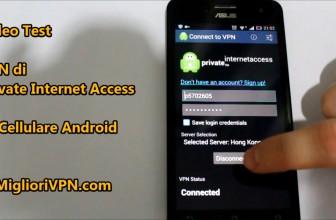 Private Internet Access VPN per Android 2.2 o superiore