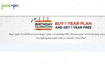 Compra una membership per un anno e hai un anno di PureVPN Gratis