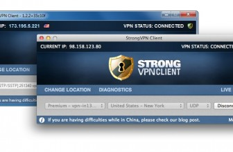 StrongVPN diventa no logs