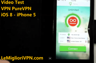 Vpn per iOS 8 di PureVPN | Video test  2015 di PureVPN per iPhone